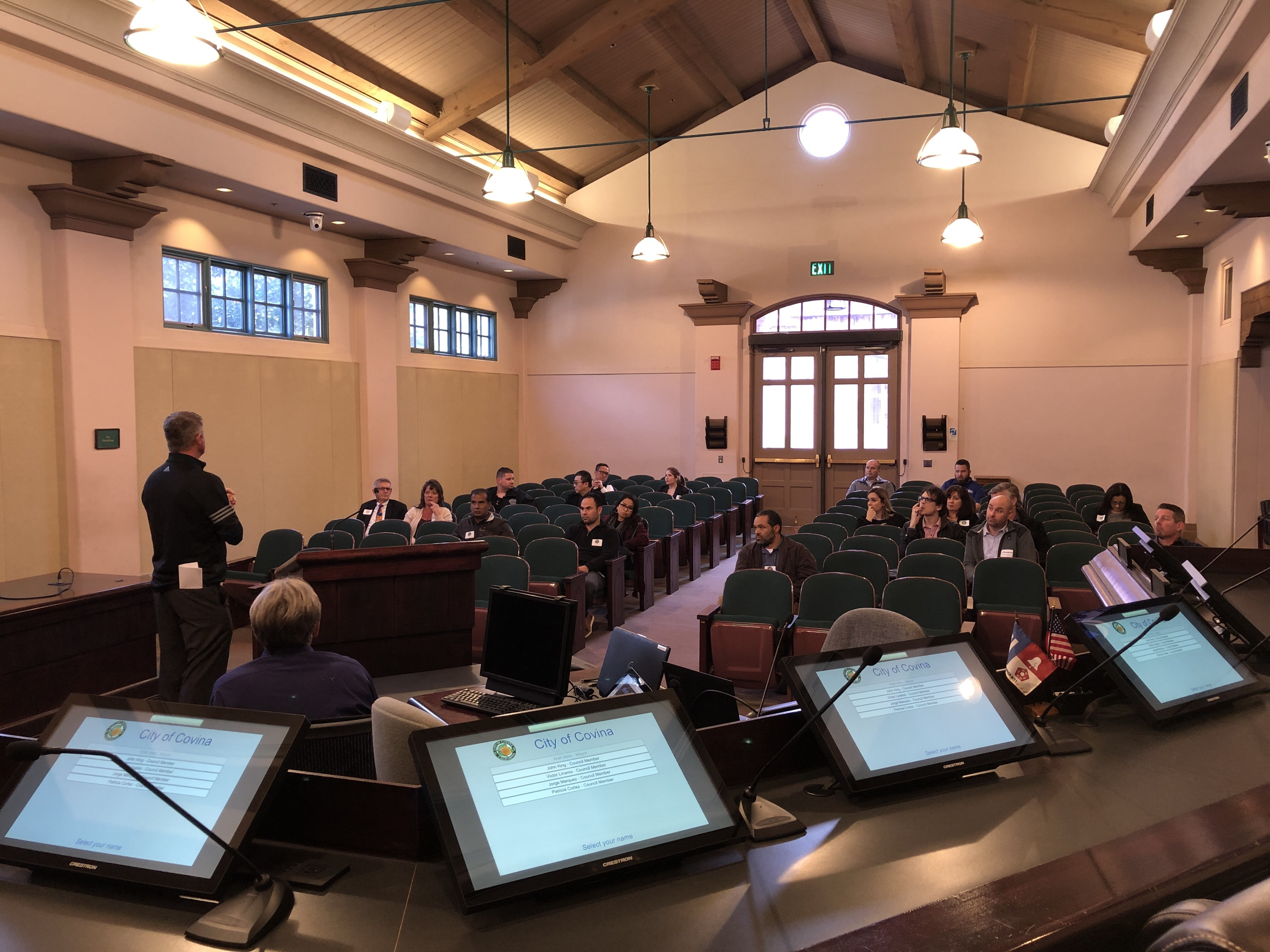 Western Audio Visual Technology Showcase Tour: City of Covina Council Chamber